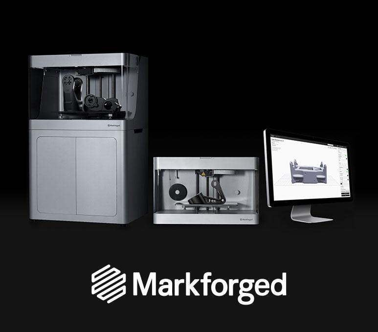3D Druck mit 3D Systems und Markforged