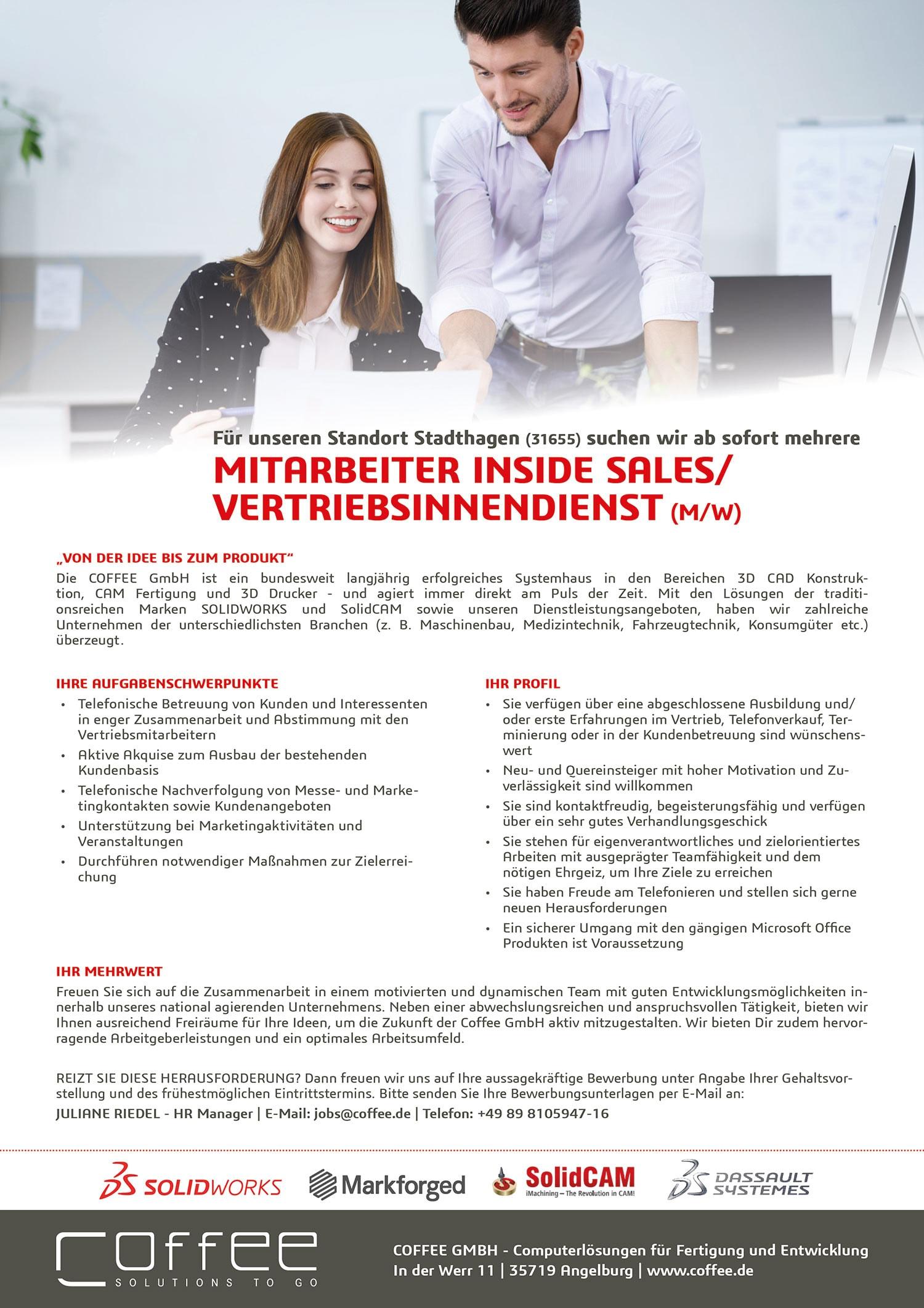Stellenanzeige_Telemarketing_0716_Stadthagen