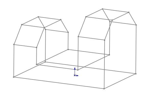 parametrisierte 3D-Skizze in SOLIDWORKS