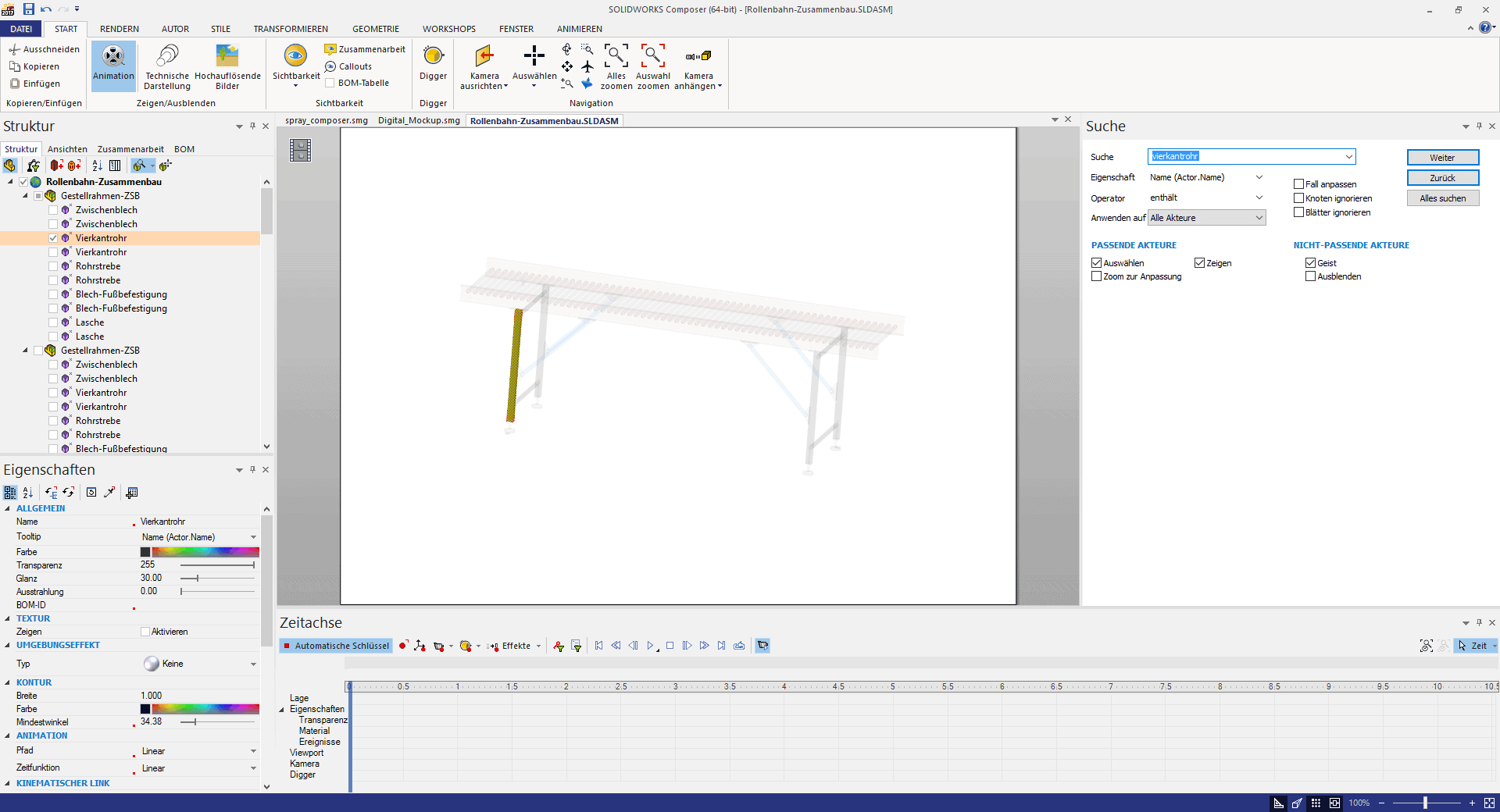 how to open solidworks composer