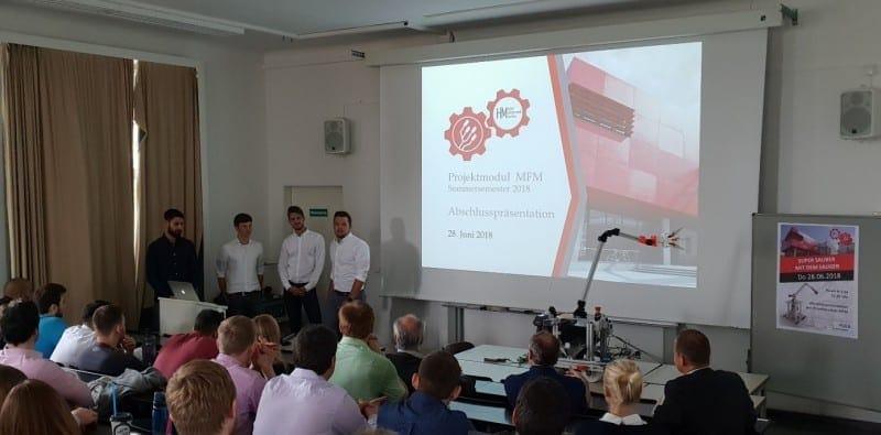 studierende der hochschule mnchen konstruieren mit solidworks - Hochschule Mnchen Bewerbung