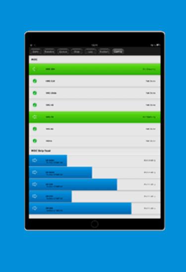 Software CIMCO DNC Max auf Tablet