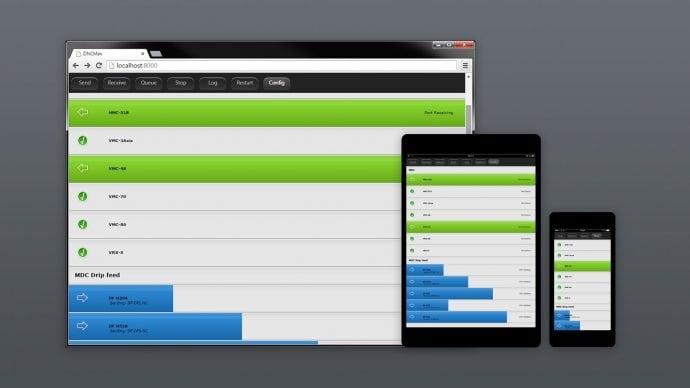 CIMCO DNC Max Web Client auf Desktop und Tablet