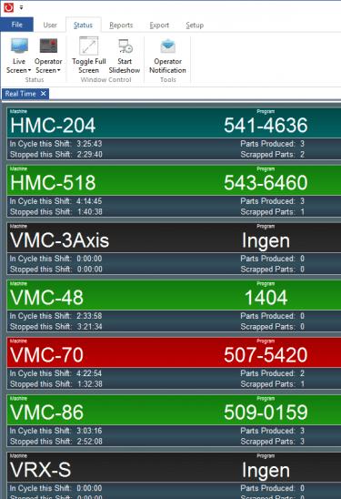 CAM Software CIMCO MDC Max Bentuzeroberfläche