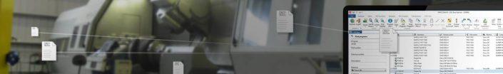 CIMCO NC Base Maschinenraum mit Laptop
