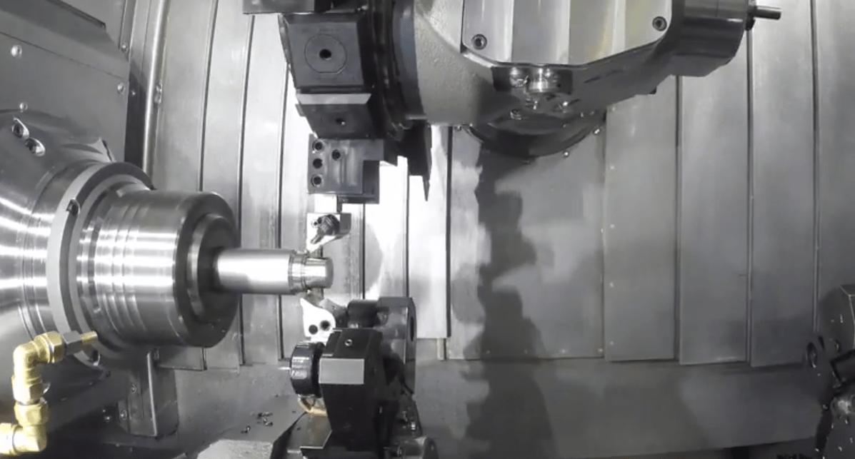 CNC Maschine von Innen
