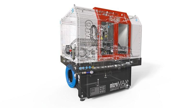 MicroMax Maschine mit SOLIDWORKS