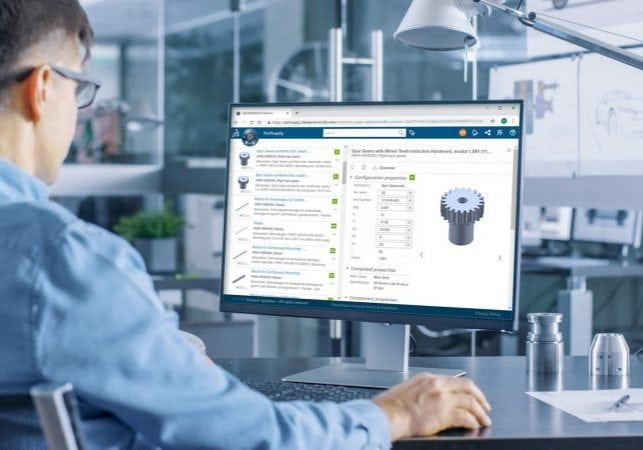 Konstrukteur mit 3D Experience Marketplace