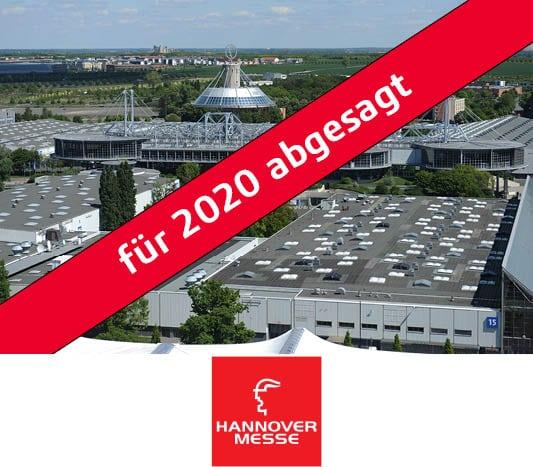 Hannover Messe ist für 2020 abgesagt