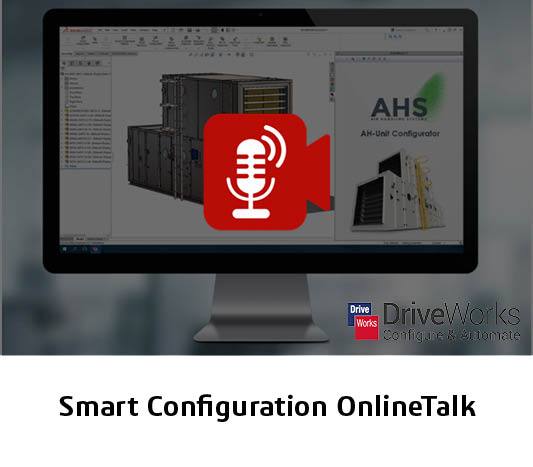 Desktop mit DriveWorks Anwendung