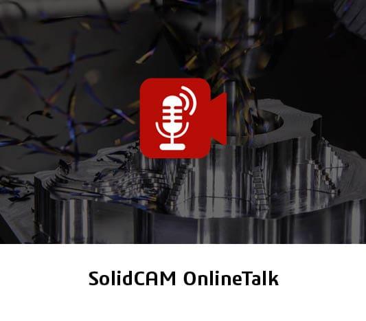 Einladung zum Event SolidCAM OnlineTalk