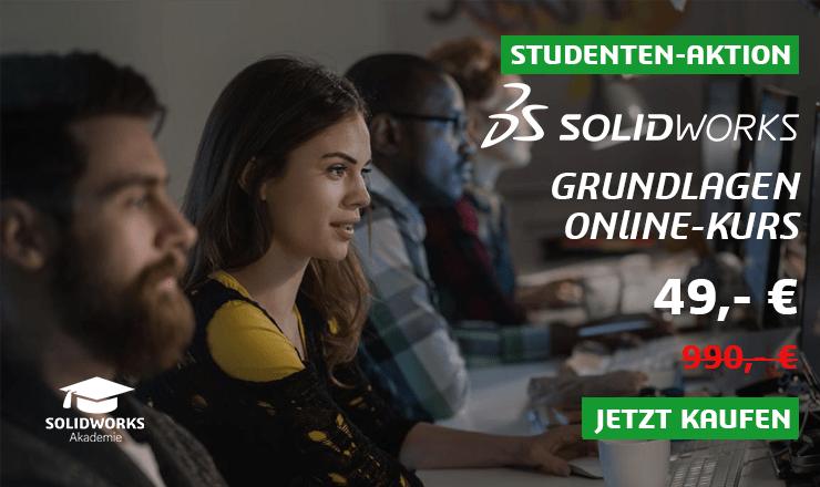 Studenten arbeiten mit SOLIDWORKS