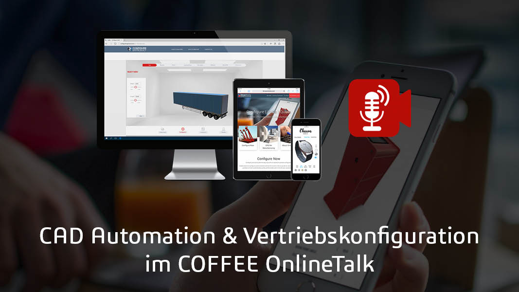 DriveWorks auf Smartphone, Computer, Tablet.