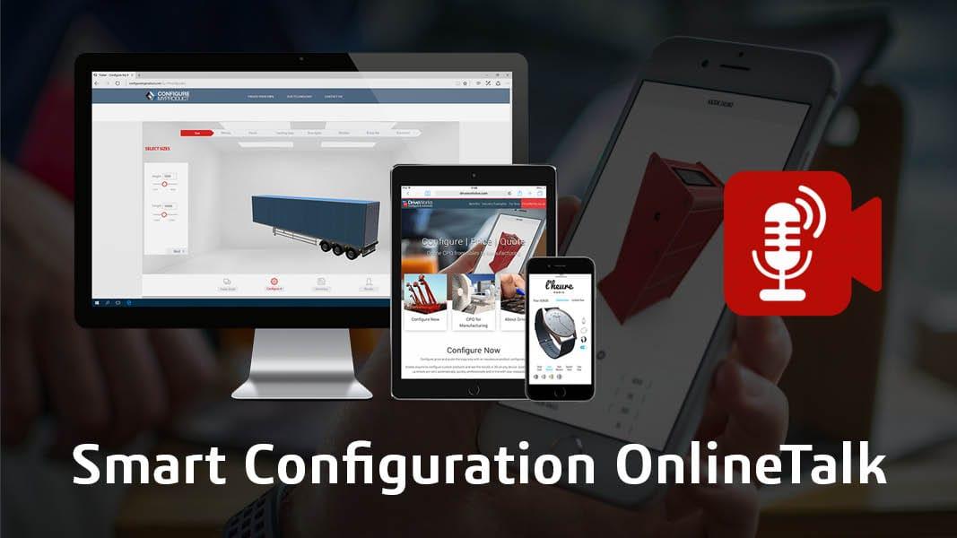 Einladung zum Smart Configuration OnlineTalk