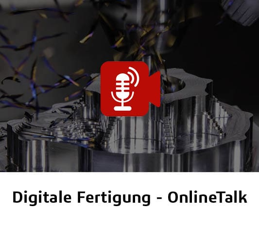 Online-Live-Event digitale Fertigung mit Solidcam